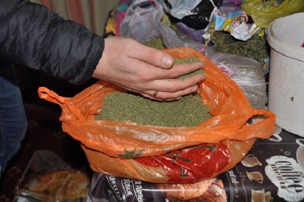 Всего изъято около 9 кг каннабиса / npu.gov.ua