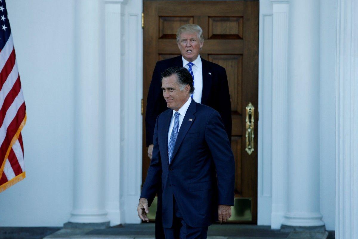 Дональд Трамп и Митт Ромни / REUTERS