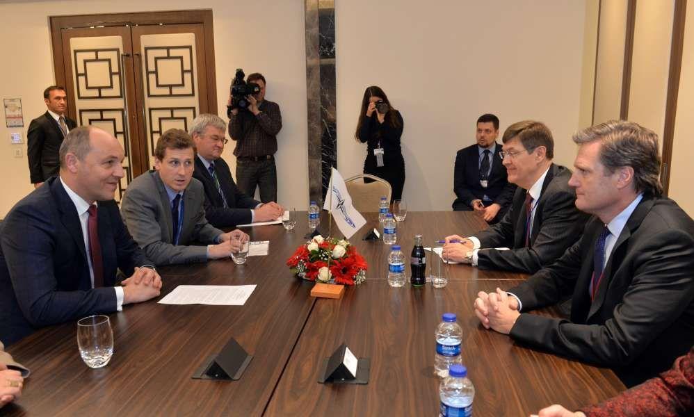 Парубий напомнил НАТО остремлении Украины стать членом Альянса