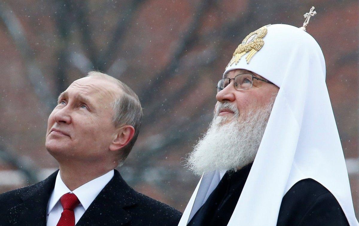Володимир Путін і патріарх Кирило / REUTERS