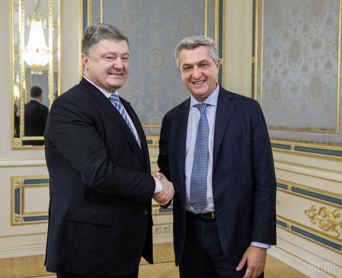 Гранді: Ми можемо донести інформацію про виклики, з якими стикається Україна, до усього світу / Фото УНІАН