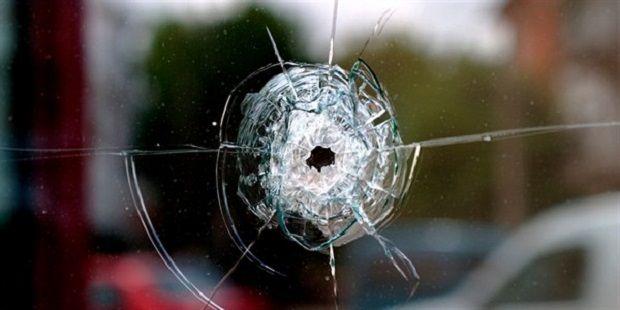 Выстрелом в квартире пробило окно / Slavgorod.com.ua