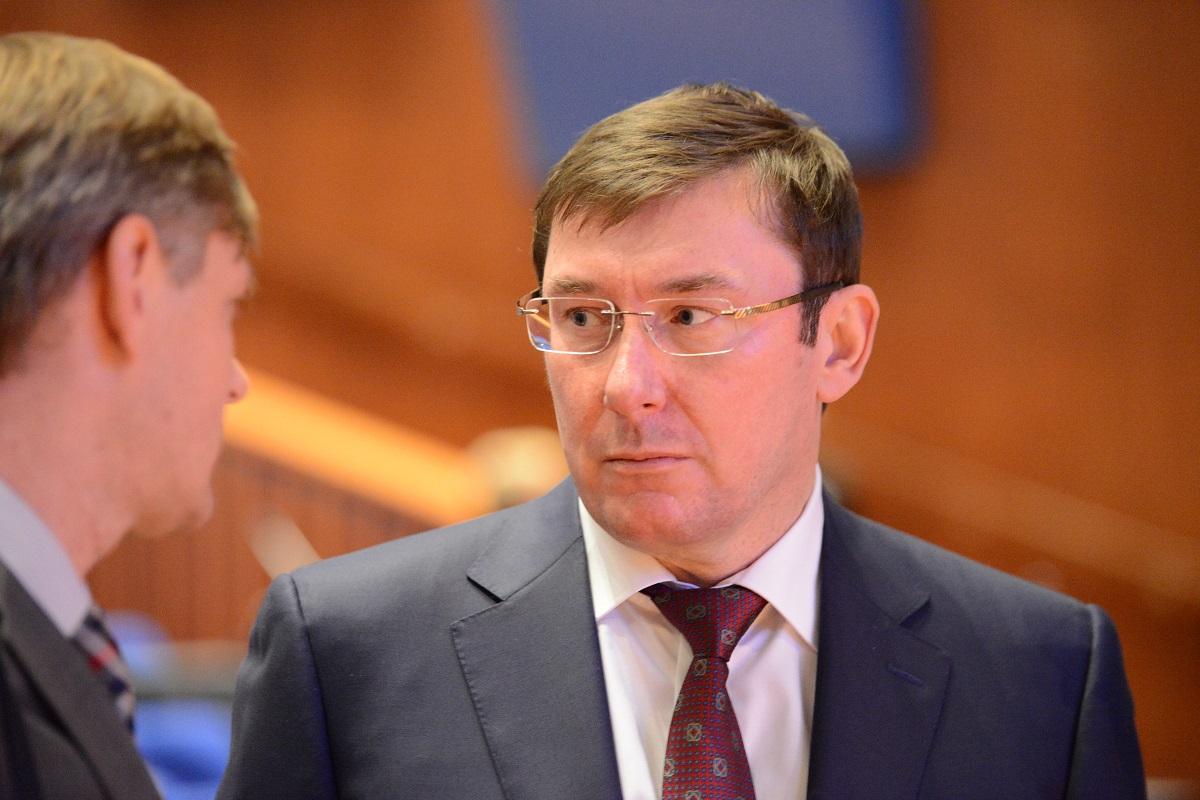 За словами Луценка, вина за звільнення підозрюваного лежить на прокурорах / УНІАН