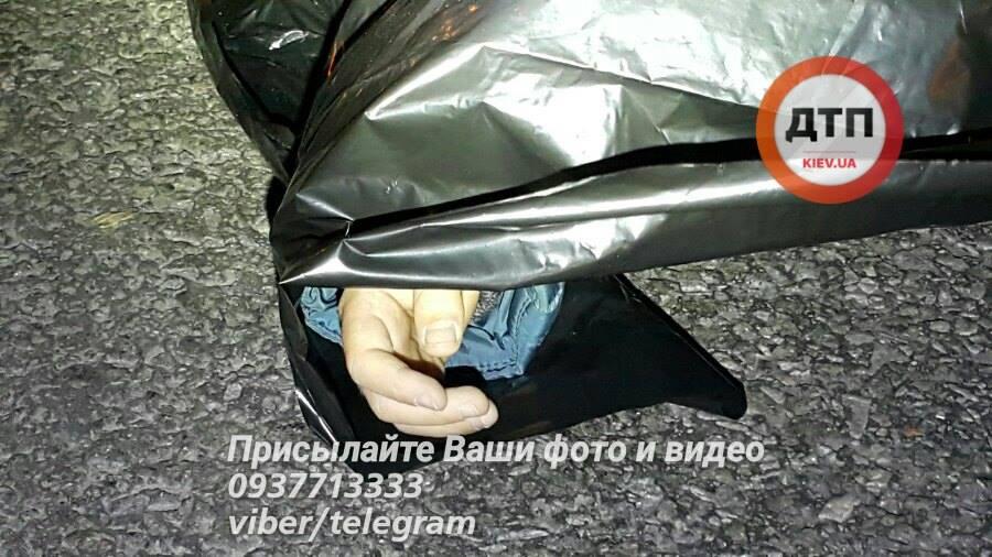 Школьник погиб от удара / Фото dtp.kiev.ua