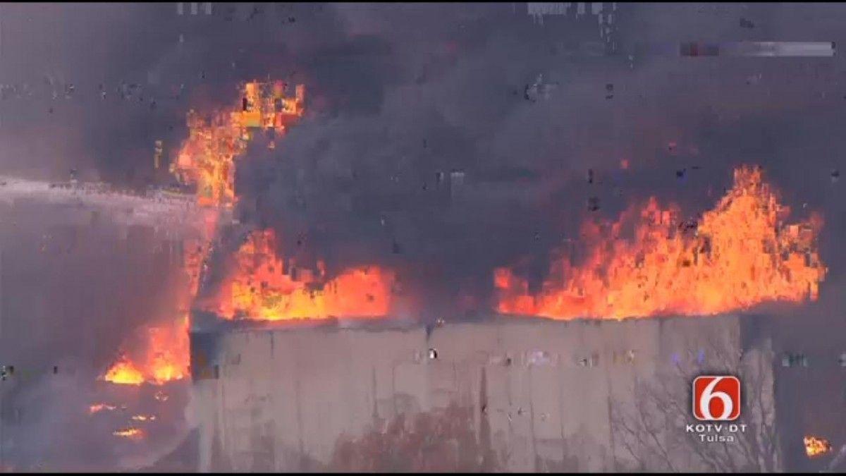 Взрыв повлек эвакуацию жителей города / newson6
