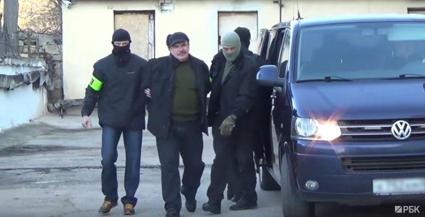 Пархоменко ФСБ затримала / Скріншот