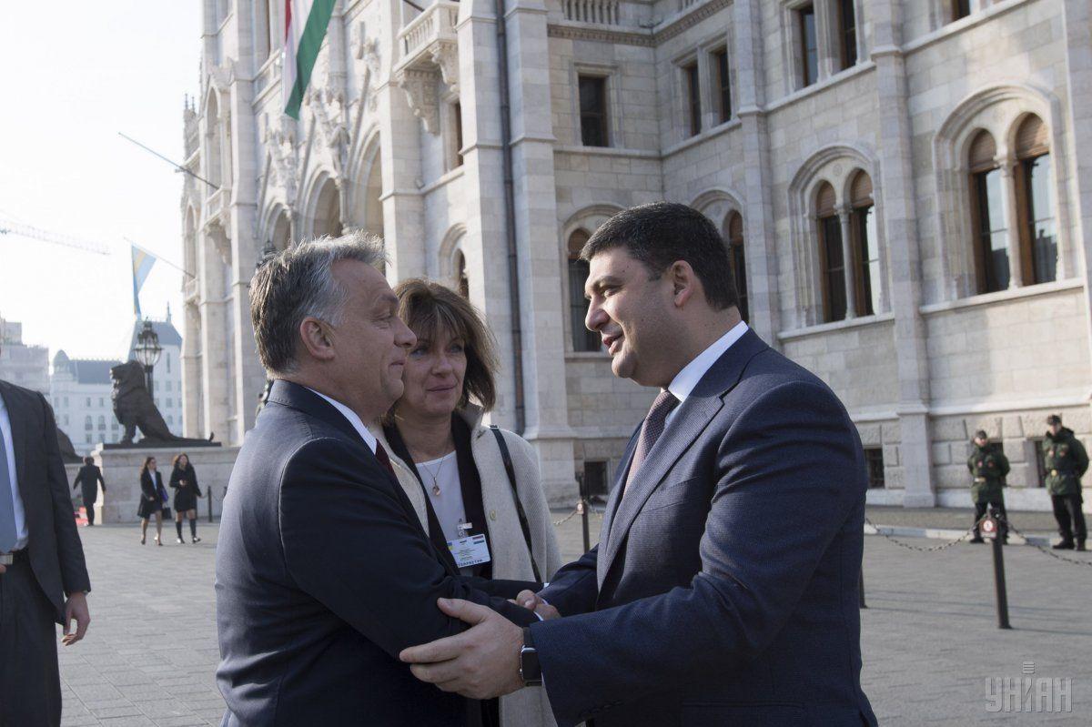 Орбан: Україна займає належне їй місце у сім'ї європейських народів / Фото УНІАН