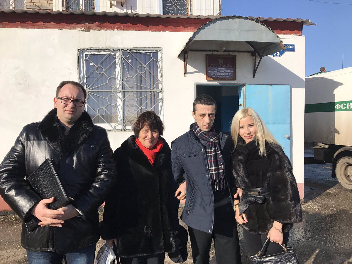 Хайсер Джамілєв відбував ув'язнення в Астраханській колонії №10 / twitter.com/nikolai_polozov