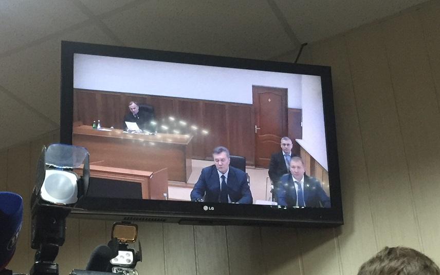 Суд переніс відеодопит Януковича / фото УНІАН