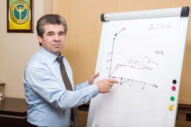 Исполняющий обязанности главы Государственной службы занятости Валерий Ярошенко
