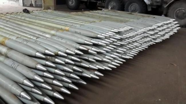 Окупанти поповнюють запаси боєприпасів / sprotyv.info