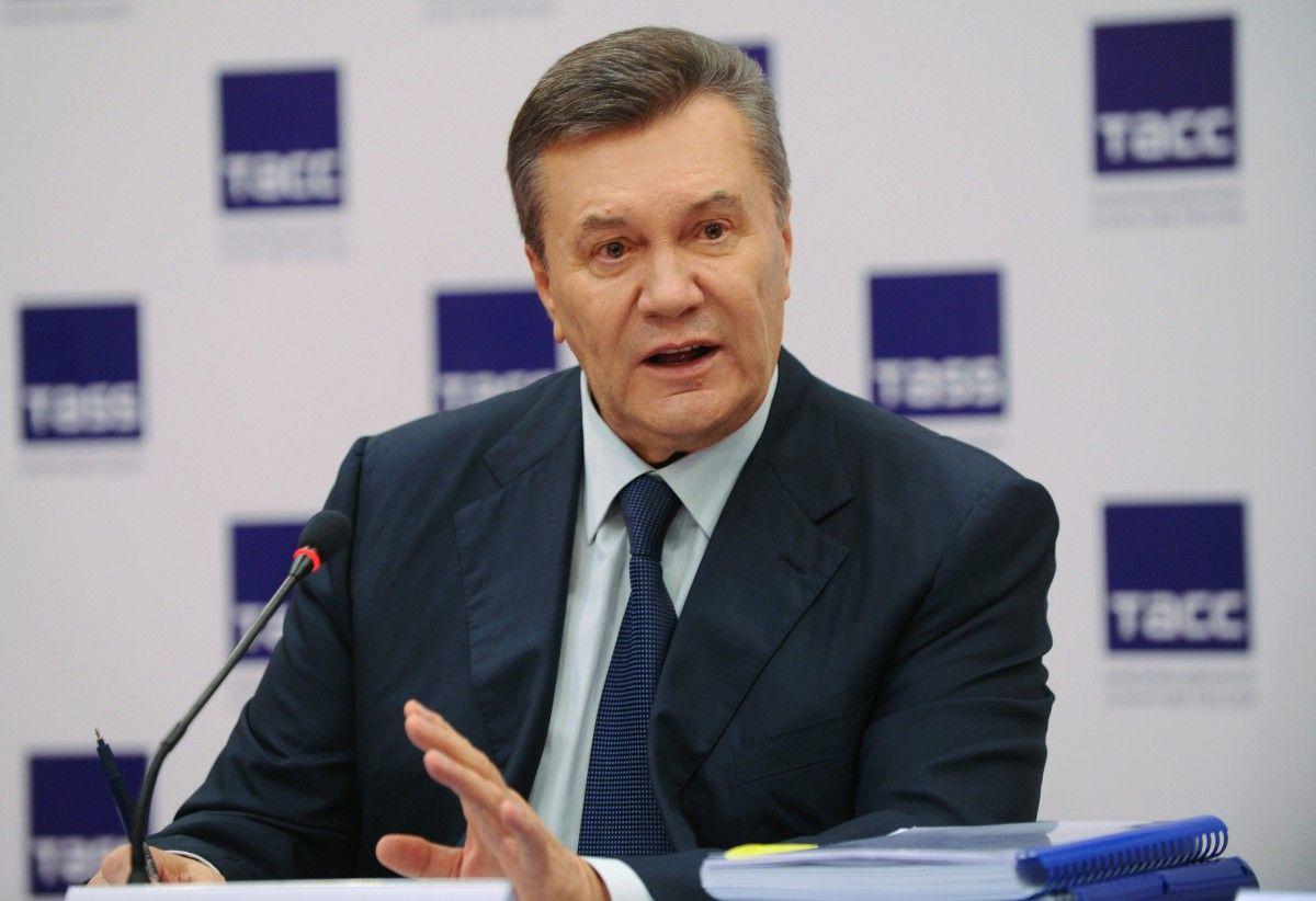 Янукович получил временное убежище вРФ досередины осени 2017-ого года