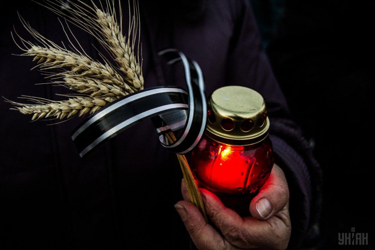 Память жертв Голодомора почтили во многих странах Европы и мира / Фото УНИАН