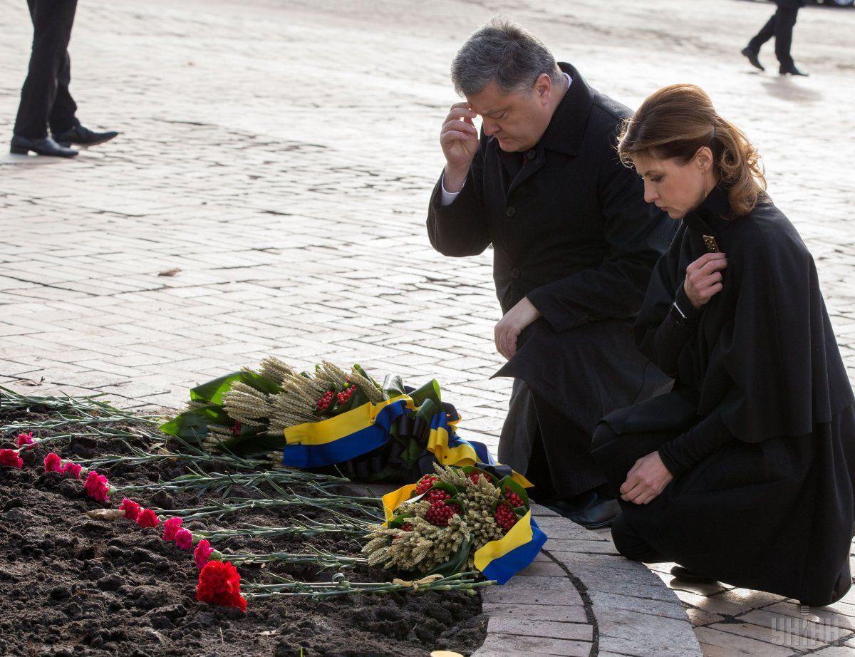 Порошенко отметил, что Голодомор невозможно вычеркнуть из истории / Фото УНИАН