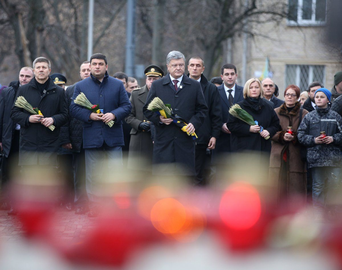 Порошенко считает Голодомор следствием потери Украиной государственности / twitter.com/poroshenko