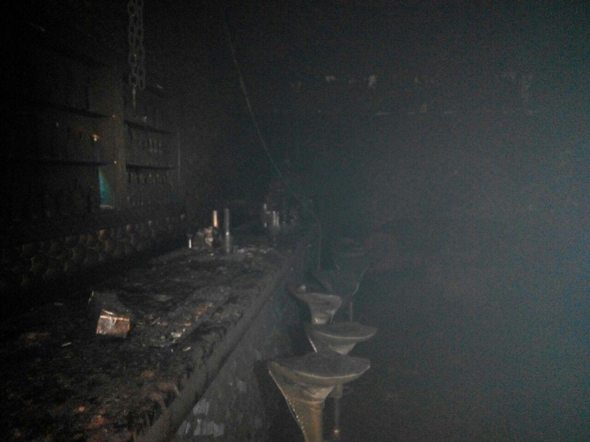 Во Львове горел ночной клуб / Фото dsns.gov.ua