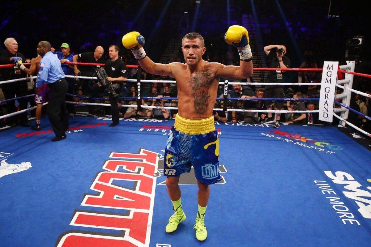 Ломаченко вийшло в Топ-20 кращих боксерів світу / Фото facebook/petroporoshenko