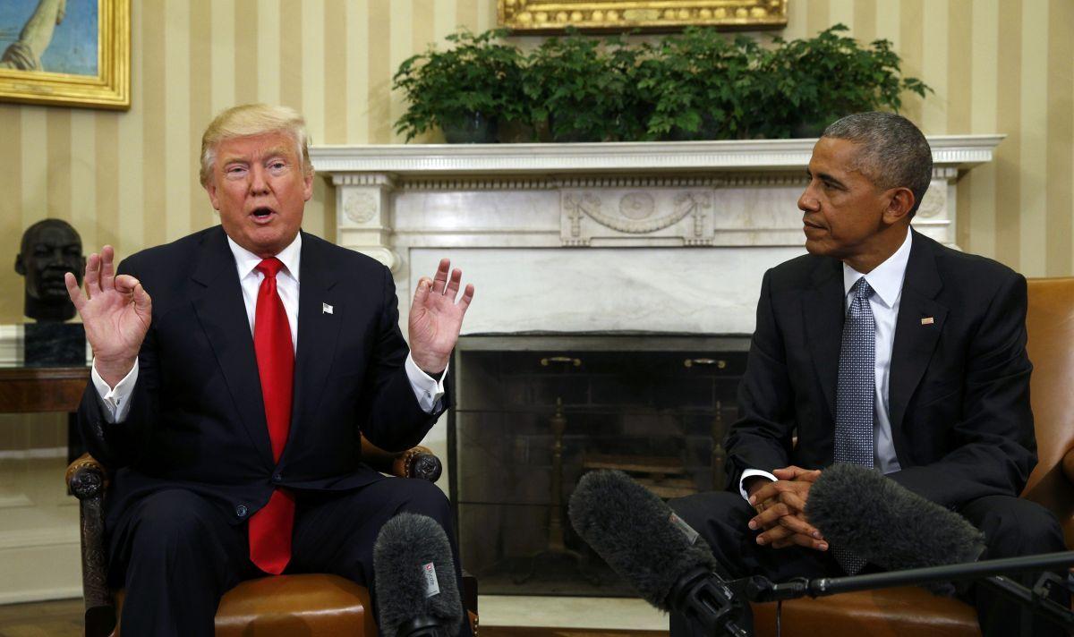 Дональд Трамп і Барак Обама / REUTERS