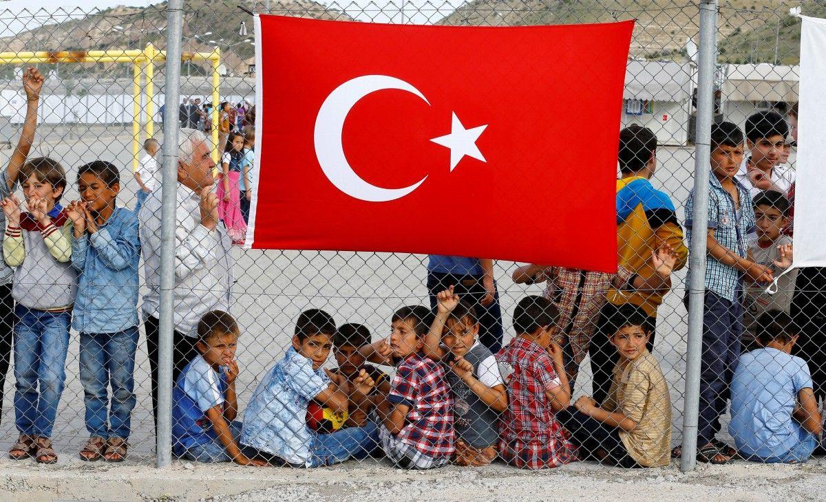 Мигранты в Турции / REUTERS