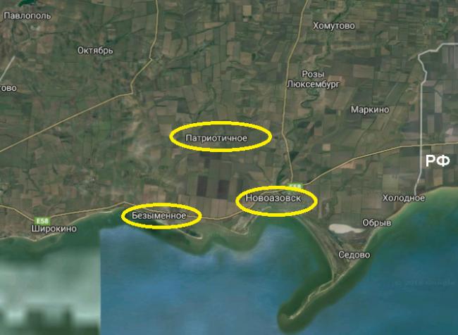 2 танка тщательно замаскированы в посадках в районе на север от Безымянного / sprotyv.info