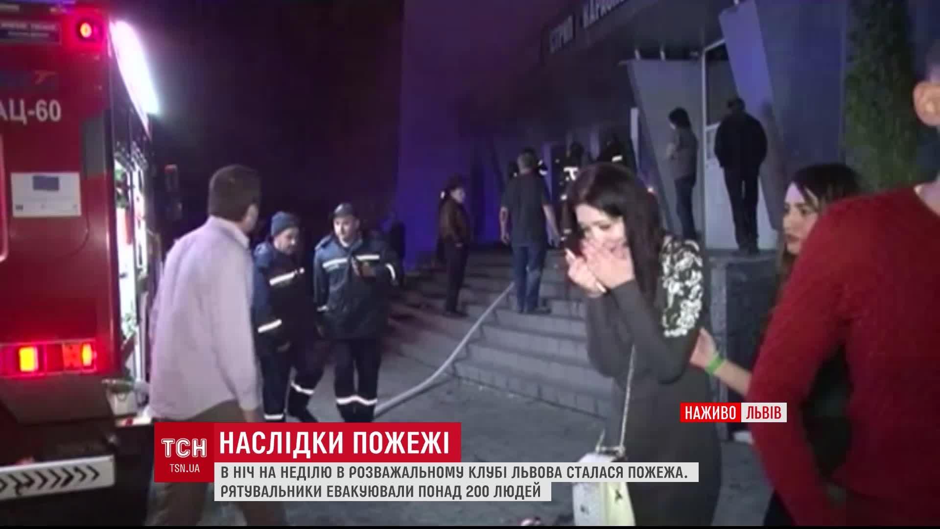 После масштабного ночного пожара в развлекательном клубе Львова 21 человек остается в больнице /