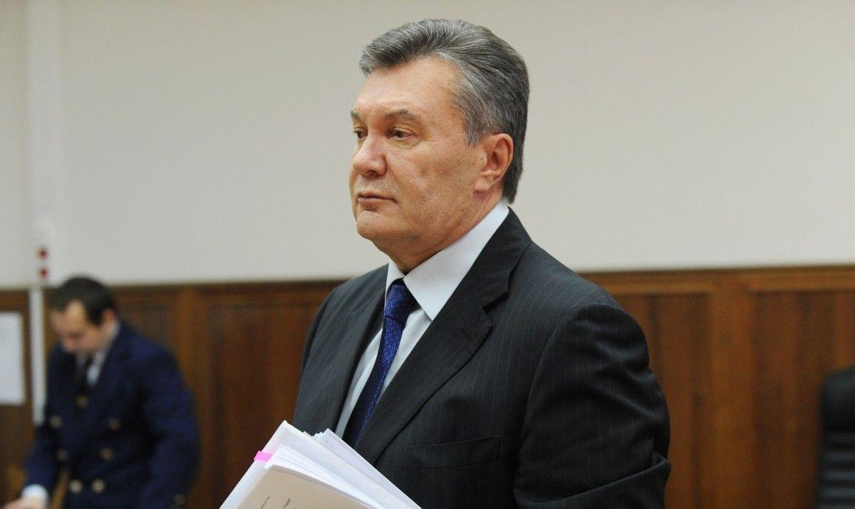 Янукович під час допиту 28 листопада / Фото REUTERS