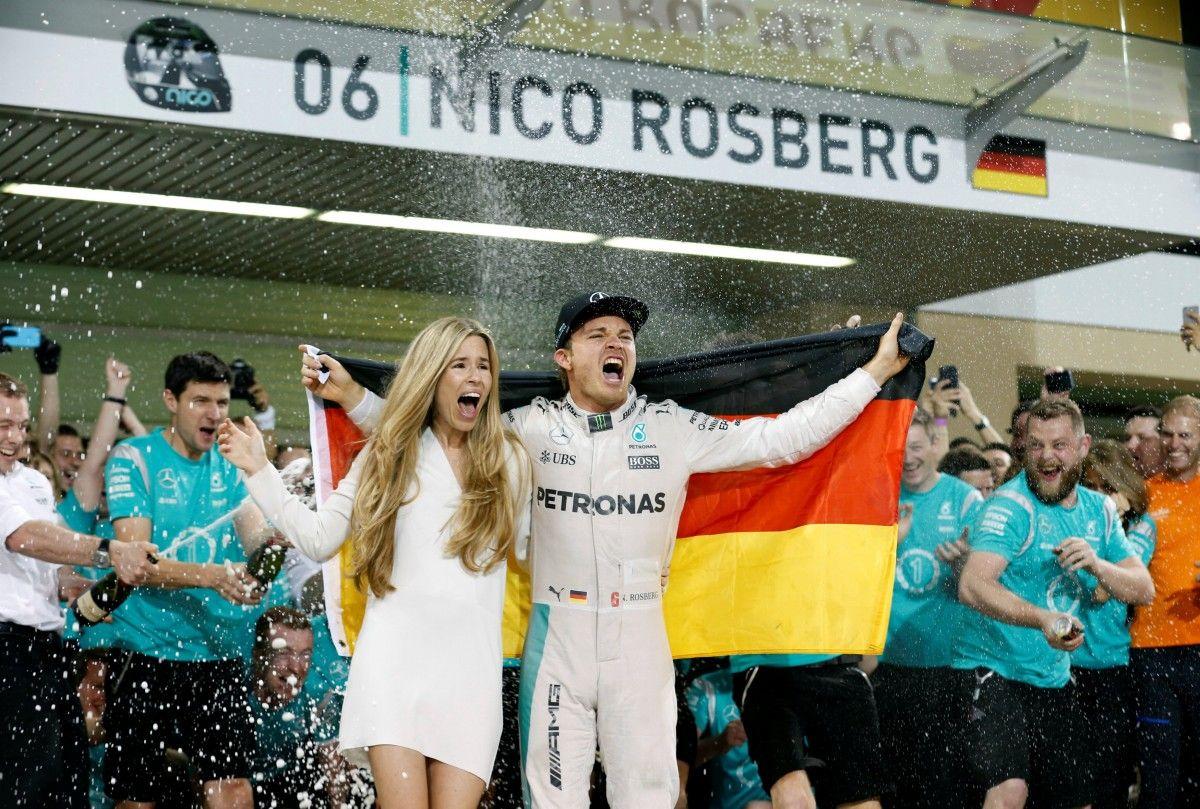 Нико Росберг стал новым чемпионом Формулы-1