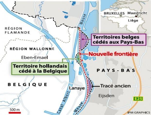 Нидерланды иБельгия подписали соглашение обобмене частями территорий