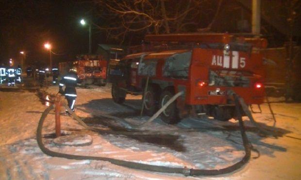 Площа пожежі складала близько 100 кв. м. / dsns.gov.ua