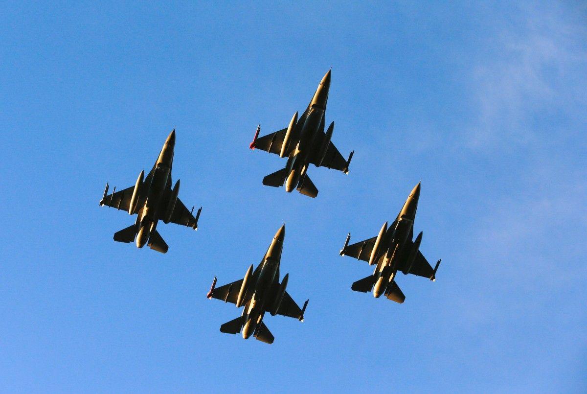 Бельгийские F-16 / REUTERS