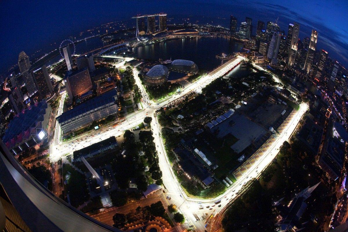 Трасса Марина Бэй в Сингапуре / Reuters