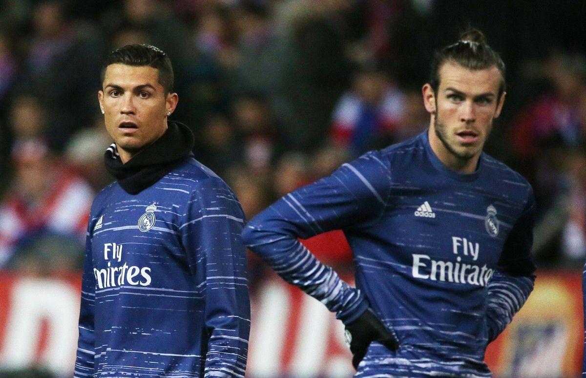 """Форварды """"Реала"""" Криштиану Роналду и Гарет Бэйл / Reuters"""
