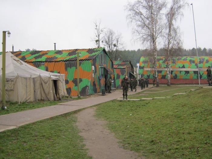 Солдата-строковика знайшли мертвим у навчальному центрі на Львівщині / Wikimapia