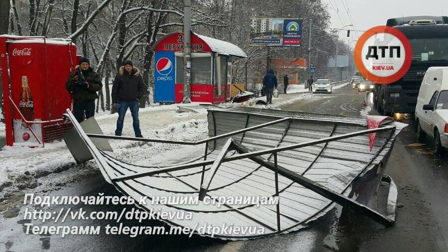 По данным полиции, в результате аварии пострадал только один человек / dtp.kiev.ua