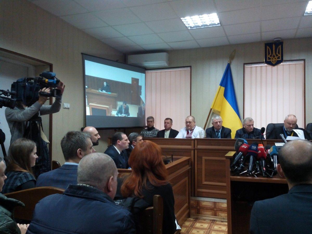 Шуляк виступає як свідок у справі вбивства людей під час Євромайдану / фото УНІАН