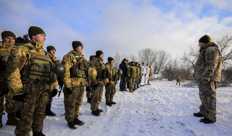 Порошенко на позиціях ЗСУ поблизу Горлівки / president.gov.ua