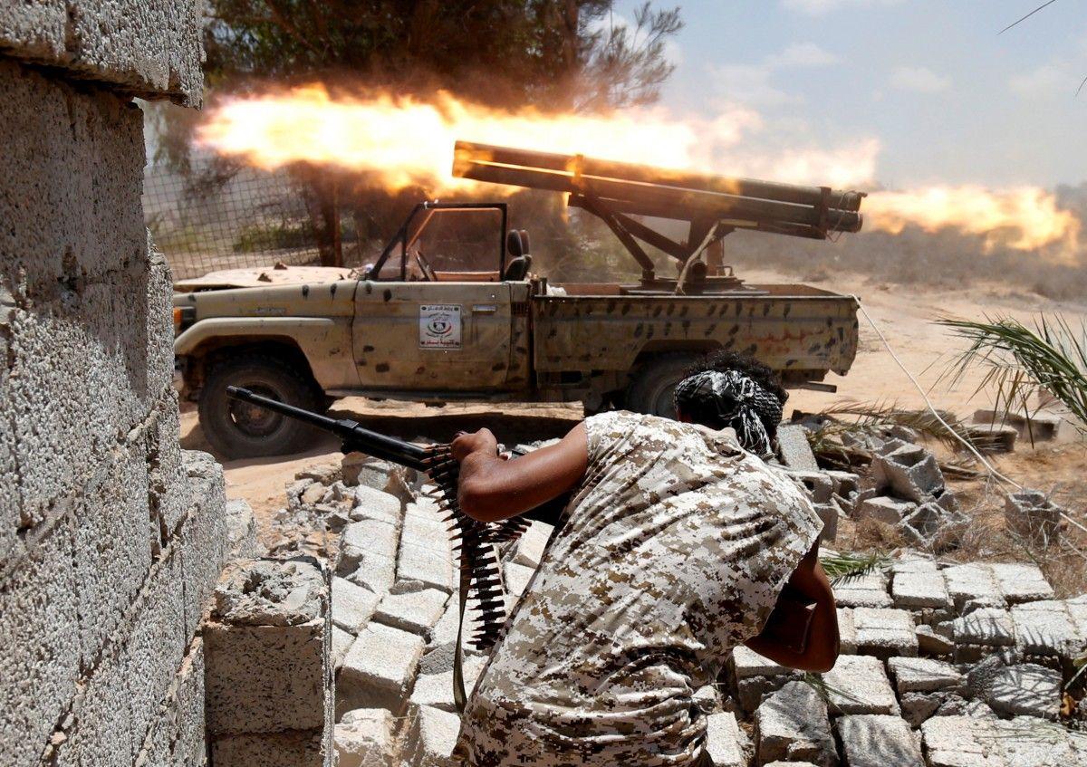 Армия Ливии освободила отИГ город Сирт, захваченный боевиками впрошлом году