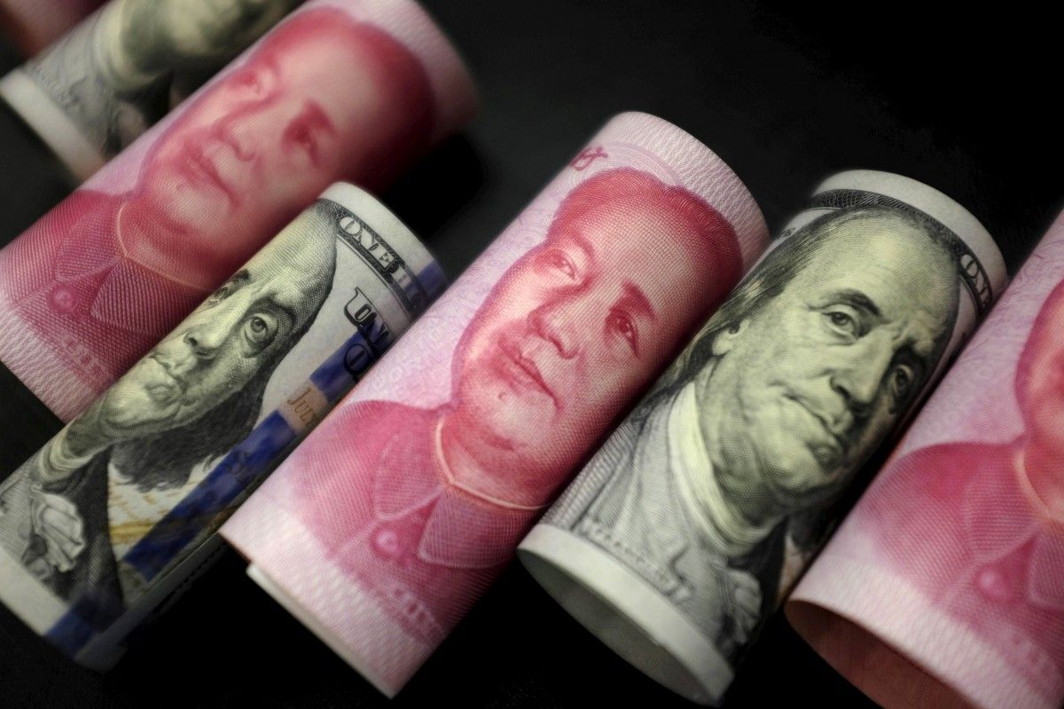 Китай суттєво підвищив курс юаня до долара