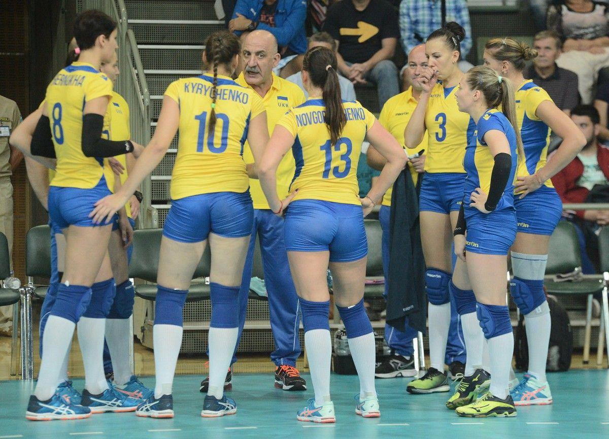 Отбор к турниру-2017 также поначалу складывался непросто у женской сборной Украины по воллейболу / fvu.in.ua