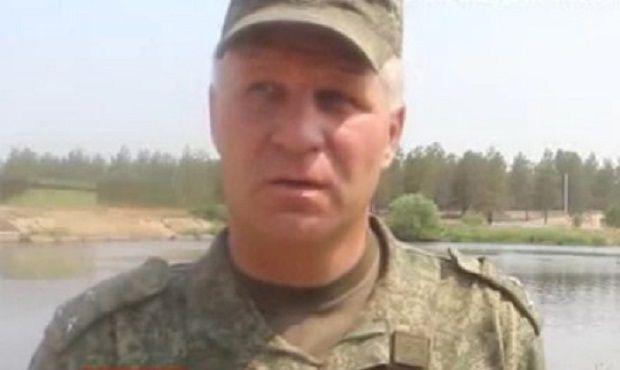Загиблий у Сирії російський військовий Галицький / Скріншот