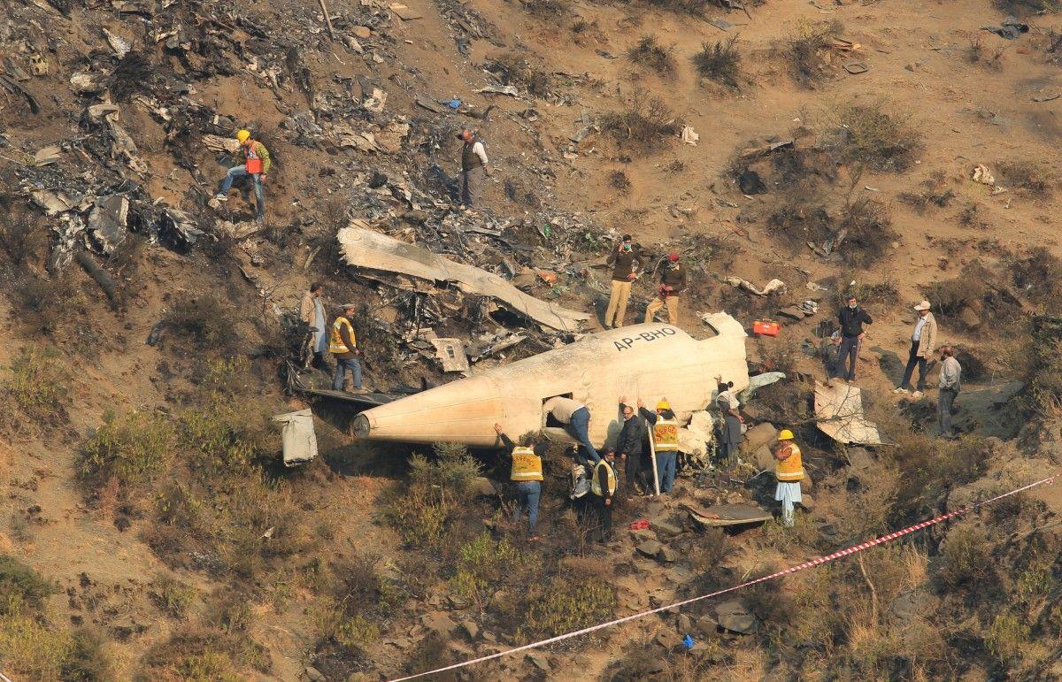 Авіакатастрофа в Пакистані / REUTERS
