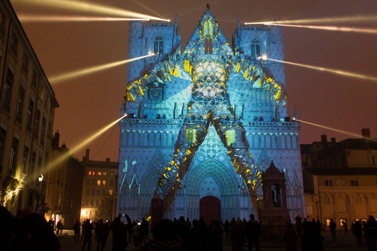 Свято світла в Ліоні / Фото REUTERS