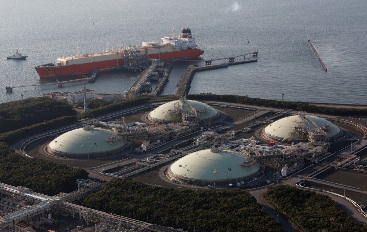 Япония закупила вСША первую партию сжиженного сланцевого газа