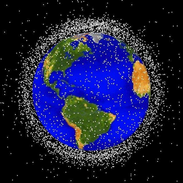 Япония запустила кМКС немалый сети для уборки космического мусора