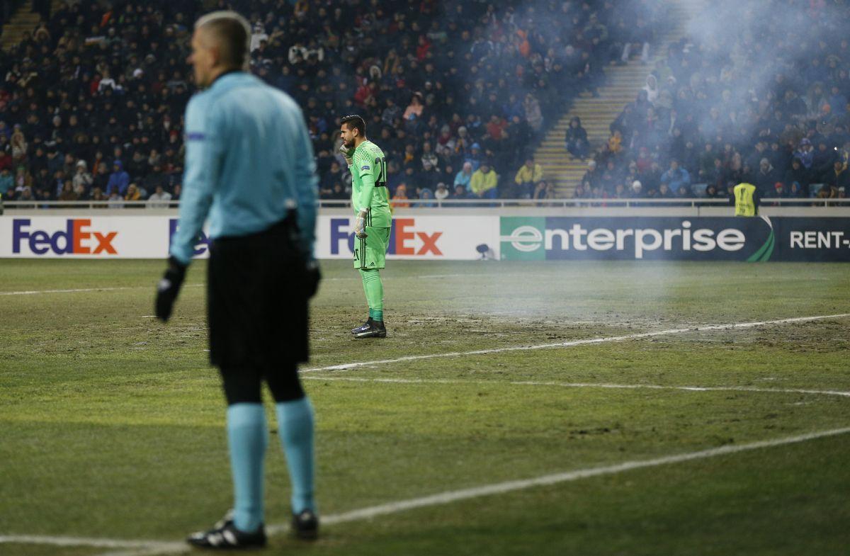 УЕФА завела дело на«Зарю» из-за беспорядков натрибунах