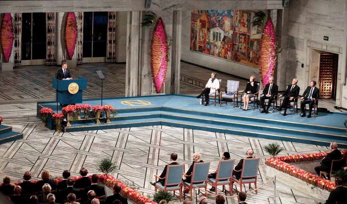 Лауреат Нобелівської премії миру президент Колумбії Хуан Мануель Сантос / REUTERS