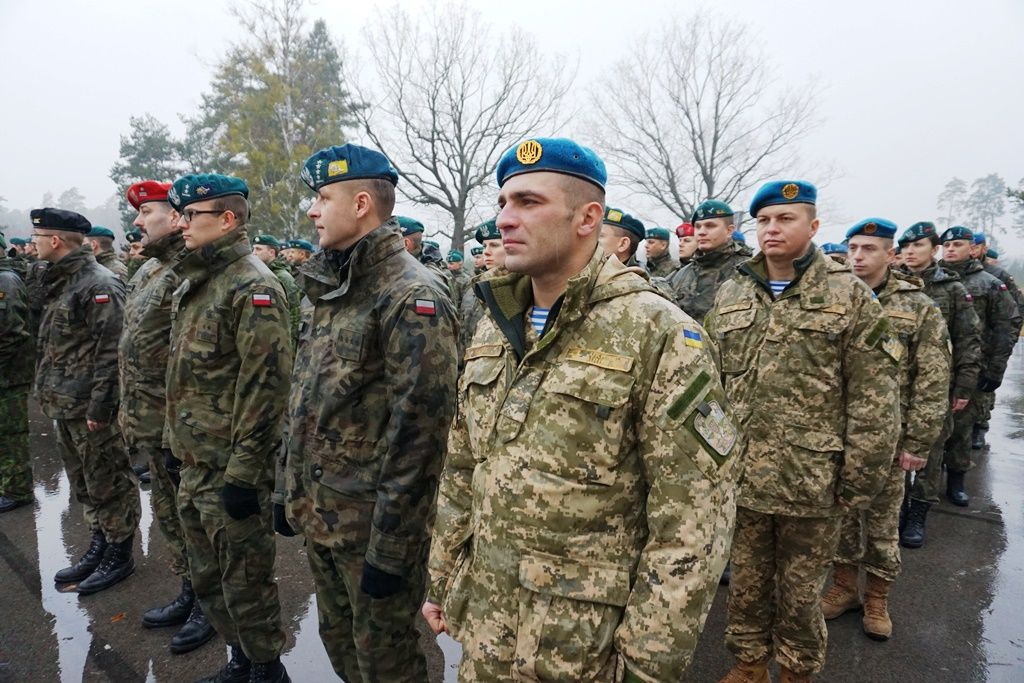 ВПольше начались командно-штабные учения сучастием военных сЛитвы иУкраины