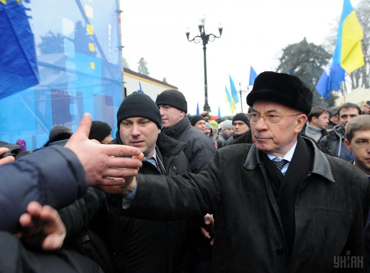 Азарову сообщено о подозрении в причастности к преступлениям на Майдане / Фото УНИАН