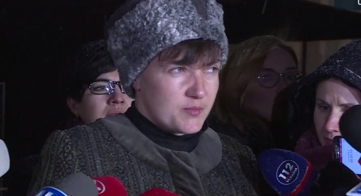 Savchenko changed her image / screenshot