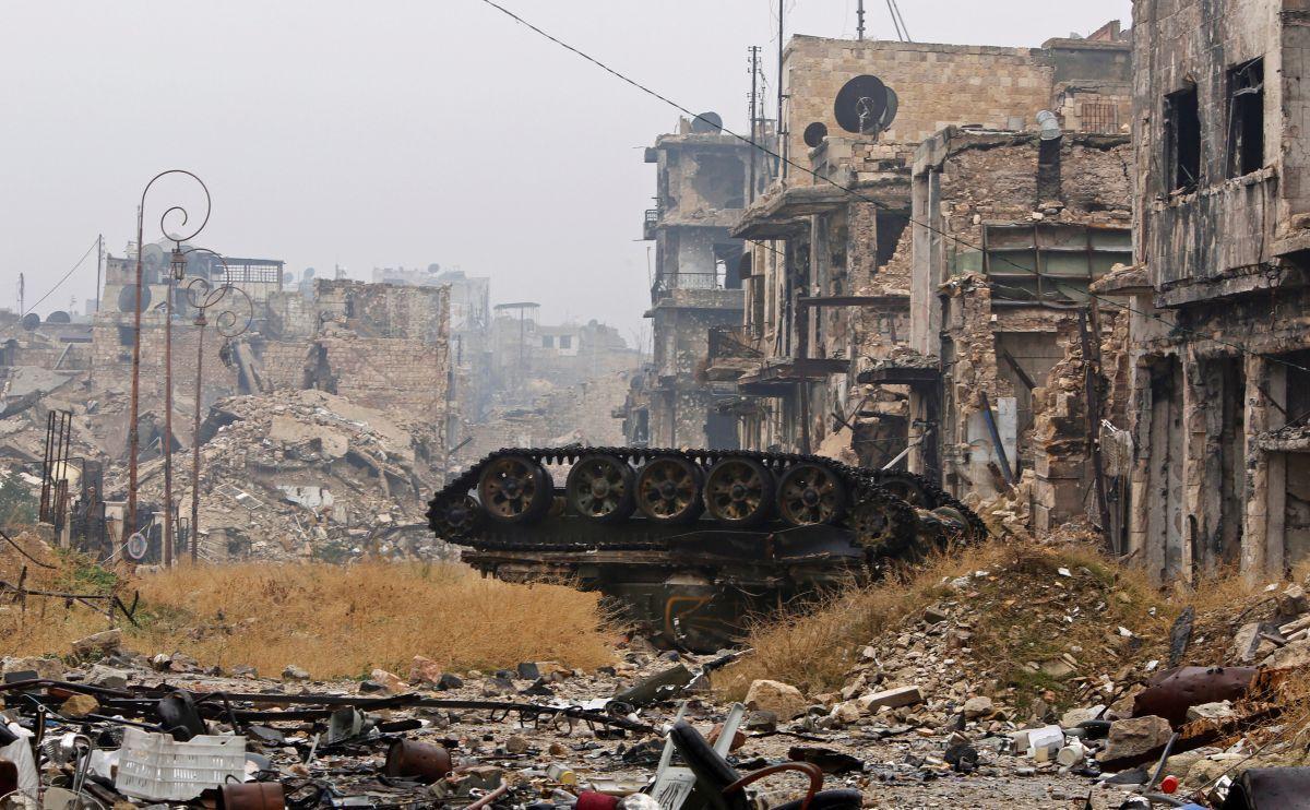Алеппо після боїв / REUTERS